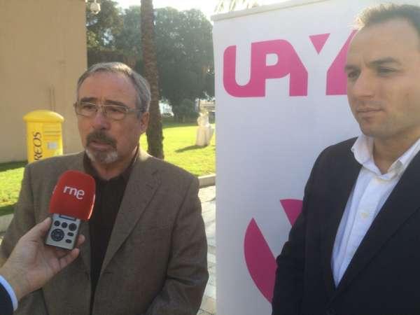 Sotomayor y Mateo (UPyD) apoyan en Cartagena las fotovoltaicas, el Rosell y el puerto del Gorguel