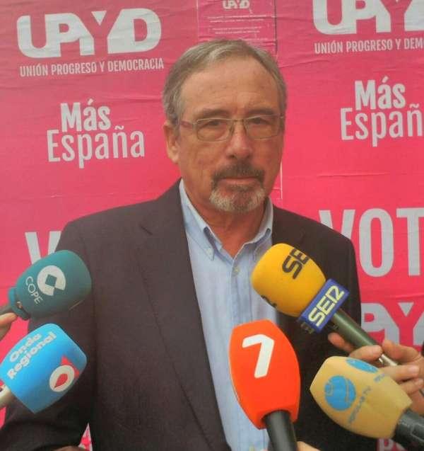 Sotomayor pide el voto para UPYD porque es el único partido que