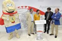 Cultura.- La candidatura de los Dólmenes cuenta con un tebeo y una mascota diseñados por Idígoras y Pachi
