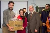 Navidades solidarias en el IES Siglo XXI de Torreblanca con cestas para 71 familias desfavorecidas