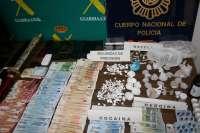 Sucesos.- Detienen a 15 personas de una organización dedicada al tráfico de heroína y cocaína