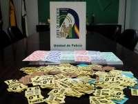 Policía de la Junta interviene en 2015 cerca de 600.000 boletos de lotería y presenta 5.000 denuncias por juego ilegal