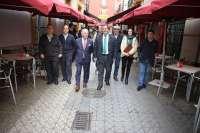 Obras desde el lunes en la calle Albareda y en verano en el Arenal para reurbanizar y renovar canalizaciones