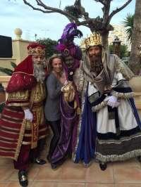Los 'Reyes Magos' de Alicante, sobre la foto con Castedo: