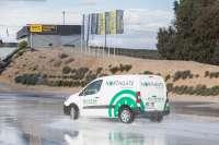 Cortadas cinco carreteras en Burgos, León y Valladolid por inundación de la vía