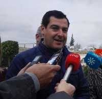 Moreno (PP-A) llevará este lunes a la Junta Directiva su propuesta de portavoz parlamentario