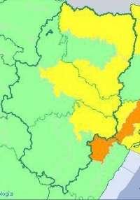 Aviso amarillo por viento en varias zonas de Aragón