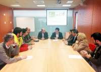 MásJaén.- La Diputación entrega a cinco nuevos empresarios oficinas en el Centro Provincial de Emprendimiento