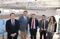 Fernández destaca la red andaluza de infraestructuras deportivas como