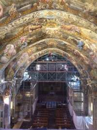 Los frescos de San Nicolás deslumbrarán tras tres años de restauración