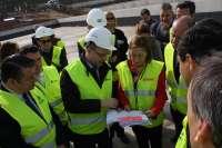 Pastor afirma que la estación de AVE de Antequera estará finalizada en 2016 y subraya el avance de los trabajos