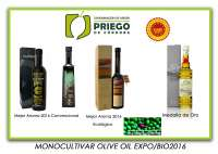 Cuatro firmas amparadas bajo la DOP Priego de Córdoba, premiadas en el Monocultivar Olive Oil 2016