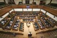 Parlamento vasco guarda un minuto de silencio en memoria de Gregorio Ordónez (PP), asesinado por ETA en 1995
