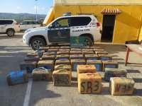 Sucesos.- Intervenida más de una tonelada de hachís en la Bahía de Algeciras en una operación con cinco arrestos