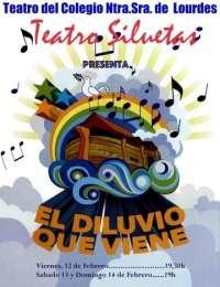 Teatro Siluetas recupera 20 años después el musical 'El Diluvio que Viene', que pondrá en escena desde el día 12