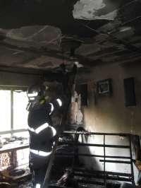 Sucesos.- Extinguido un incendio en un piso en El Puerto de Santa María con una mujer herida con quemaduras leves