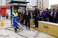 La red de baldeo de Carretera de Cádiz alcanza los 10 kilómetros y da servicio a más de 50.000 residentes