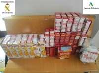 Denunciada en Melilla una mujer con 550 cajetillas de tabaco de contrabando en cajas de cereales y galletas