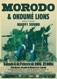 Morodo visita Logroño acompañado de los Okoumé Lions para presentar su último lanzamiento