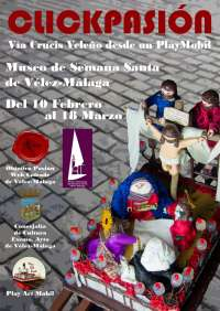 Cultura.- Vélez-Málaga acoge una exposición de tronos de Semana Santa realizados con clicks de Playmobil