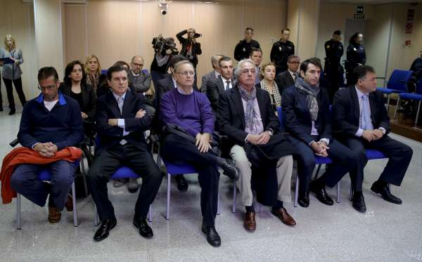 La Audiencia reanuda este martes el juicio del caso Nóos con la Infanta y otros 17 acusados en el banquillo