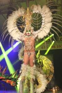 El emeritense José Manuel Barquilla gana el noveno concurso de Drag Queen de Mérida vestido de Osiris