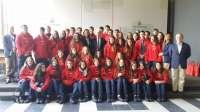 El secretario general de Acción Exterior recibe a 43 jóvenes chilenos descendientes de andaluces y españoles