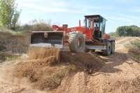 La DPZ acondiciona 3.800 kilómetros de caminos agrícolas en 2015