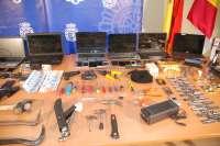 Desarticulada una organización que habría cometido 50 robos en establecimientos de la provincia de Guadalajara