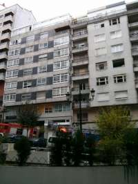 Investigan la causa de la fuga de gas en la bombona que originó la explosión en el piso de Vigo