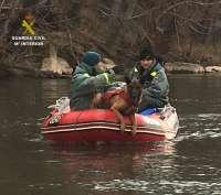 La Guardia Civil recupera en el Río Ebro el cuerpo sin vida de un varón