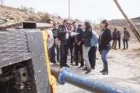 La Diputación de Almería garantiza el agua en Tahal con la realización de un nuevo sondeo