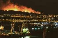 Los 32 incendios declarados desde octubre en Bizkaia han quemado 265 hectáreas
