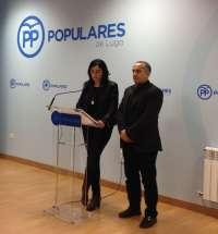 Elena Candia promete pedir que el próximo congreso del PP que se celebre en la provincia sea el de la capital lucense