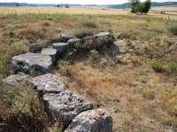 La tumba megalítica de los Zumacales de Simancas (Valladolid), en la Lista Roja del Patrimonio por su estado de abandono