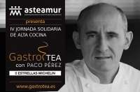 El 5 estrellas Michelín Paco Pérez participa este lunes en una jornada solidaria de alta cocina