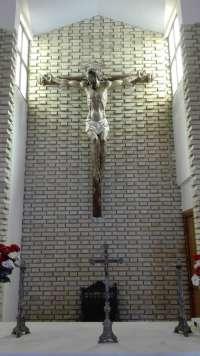 Cultura.- Descubierto un cristo en Úbeda del siglo XVI olvidado en la capilla del cementerio