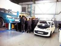 Diputación y Huércal de Almería forman a 20 desempleados en mecánica rápida