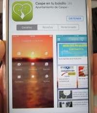 Más de 1.600 caspolinos conocen la actualidad del municipio con la app 'Caspe en tu bolsillo'