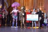 Jesús Aday Velasco gana el Concurso de Maquillaje Corporal del Carnaval de Las Palmas de Gran Canaria