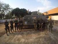 Los militares del Palma 47 en República Centroafricana pasan el ecuador de la misión
