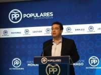 El PP de Extremadura muestra su