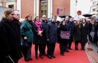 Palencia dedica una calle al expresidente de la Diputación José María Hernández, en el primer aniversario de su muerte
