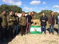 Susana Díaz participa en la suelta de un ejemplar de lince ibérico en Doñana