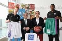 Jugadores del Unicaja lucirán en su equipación el logotipo de Sabor a Málaga en los partidos de la Liga Endesa