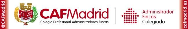 <p>Colegio Profesional de Administradores de Fincas de Madrid.</p>