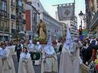 Las fechas en las que se celebra Semana Santa presentan en Valladolid un tiempo variable y llueve un 34% de los días