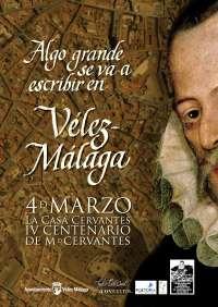 Cultura.- Vélez convierte sus calles en una página gigante en la que se escribirá una cita de 'El Quijote'