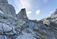 Protección Civil alerta del riesgo fuerte de aludes durante este fin de semana en Picos de Europa