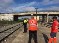 Una avería en una válvula provoca una pequeña fuga de amoniaco en la estación de tren de Badajoz